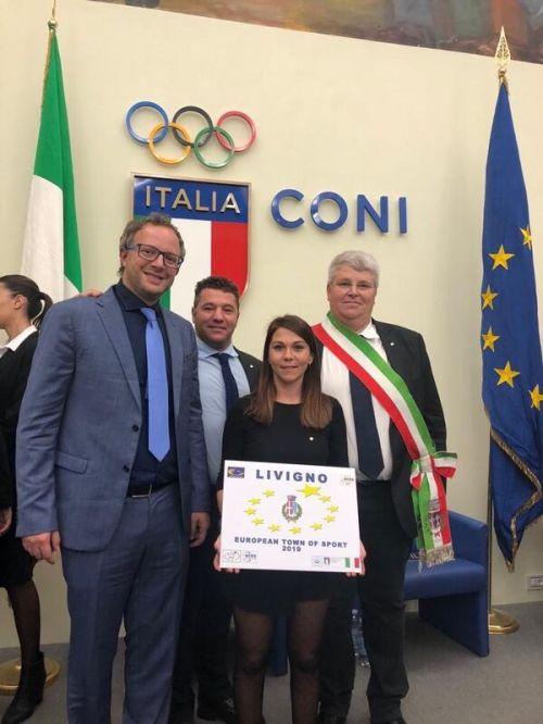 Livigno proclamato Comune Europeo dello Sport 2019