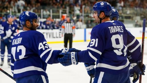 John Tavares scores PPG in Maple Leafs preseason debut