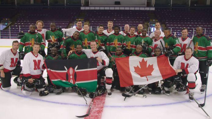La commovente sorpresa per l'unica squadra di hockey del Kenya