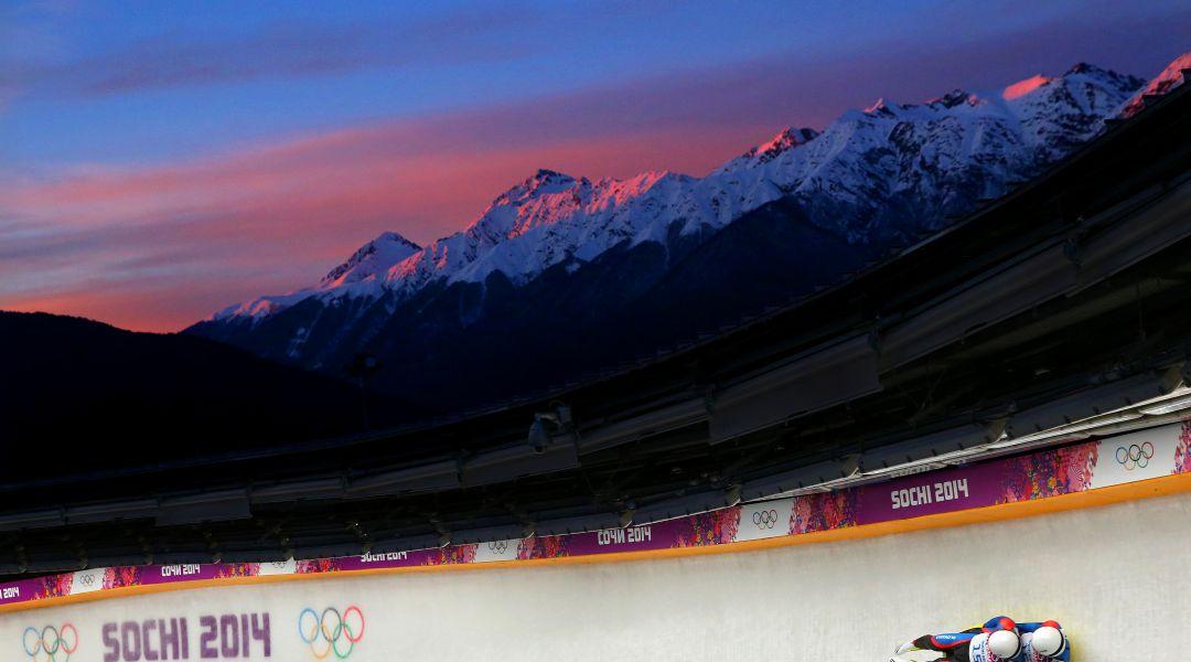 Slittino: annullate le tappe nordamericane, si gareggerà a Sochi