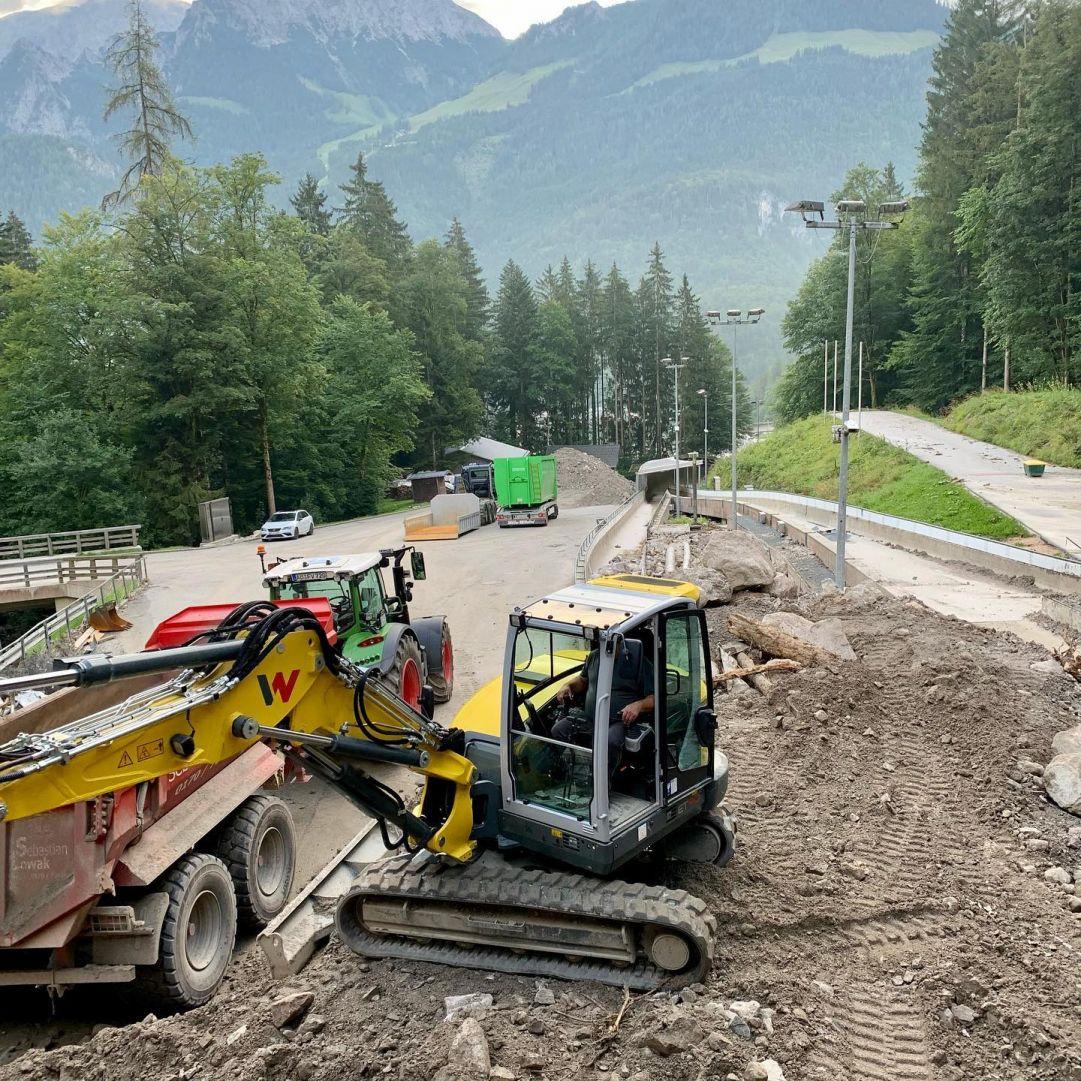 Buone notizie dalla Germania: ripartono gli allenamenti sul budello di Koenigssee