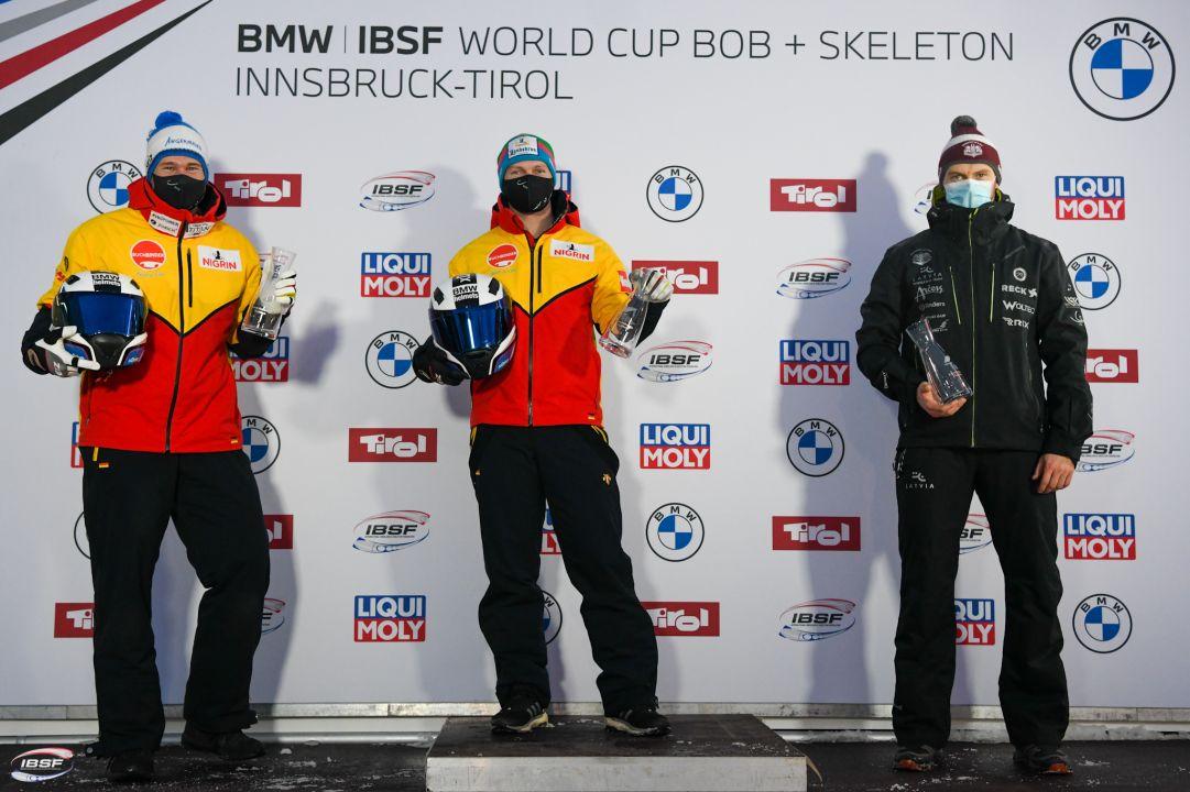 Germania dominatrice nel Bob a 2: Lochner e Friedrich trionfano nelle gare di Igls!