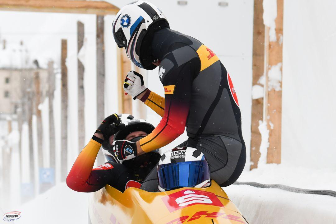 Bob: Francesco Friedrich da record a St.Moritz! Nella gara femminile trionfa Schneider
