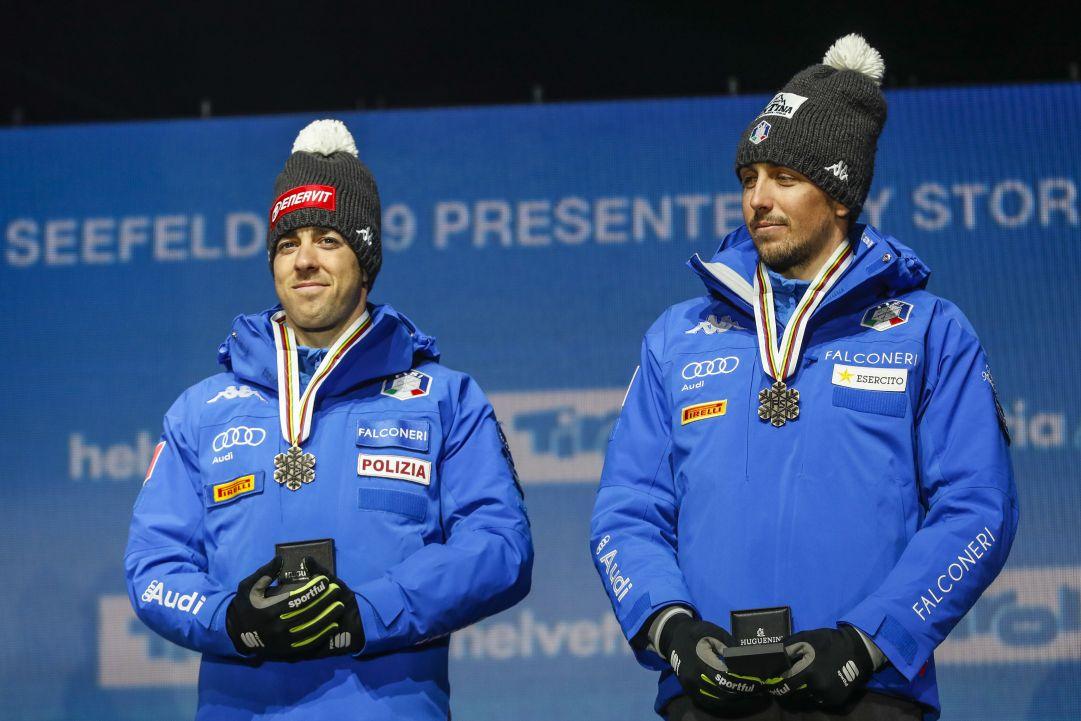 Italia sul podio nella team sprint di Dresda: Pellegrino e De Fabiani chiudono al 3° posto, vittoria alla Russia