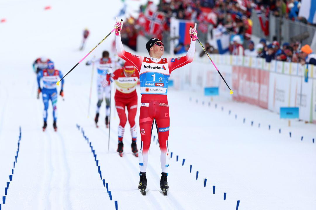 Oberstdorf 2021, la Norvegia conquista l'oro nella team sprint grazie al mostruoso finale di Klaebo. Solo quinta l'Italia