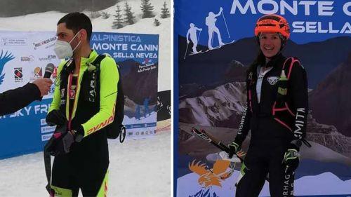 Sci Alpinismo: Herrmann e Kroll trionfano nella 64a Scialpinistica del Monte Canin a Sella Nevea