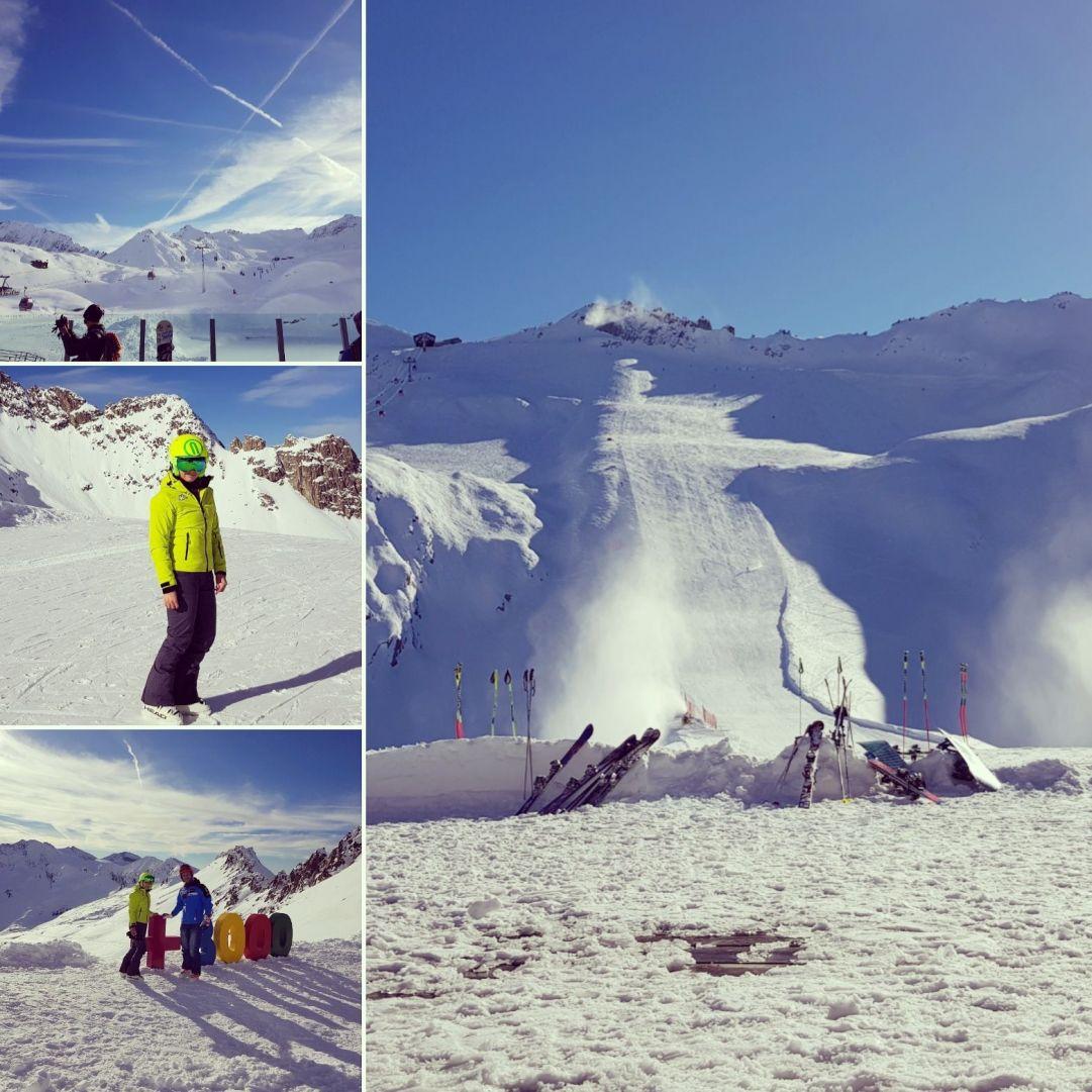 Dopo un viaggio di 12ore dalla Calabria al Passo del Tonale meravigliosi 4gg di sci con annesse lezioni del mitico istruttore Nazionale Damiano Riva