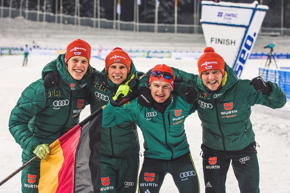 Combinata Nordica a Lahti: Germania è campione del mondo, Italia ottava