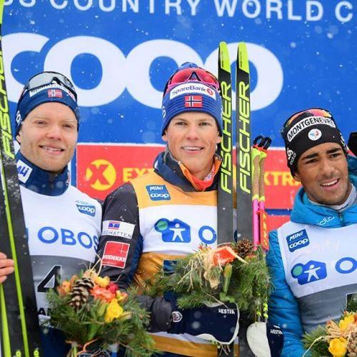 Dominio norvegese nelle sprint tc di Drammen, vincono Klaebo e Falla