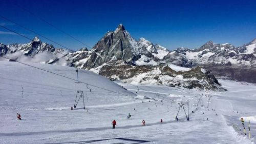 clear Skis Cervinia Oct 31 2016 467767