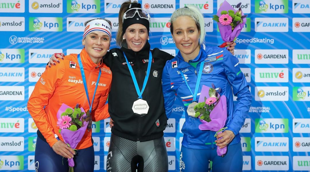 Francesca Lollobrigida regala il primo podio all'Italia: 3° posto nella mass start di Coppa del Mondo a Minsk