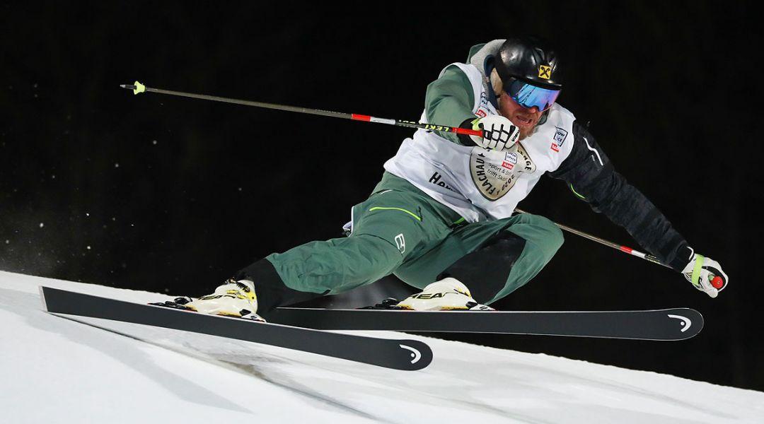 Chi si rivede: Hermann Maier giù a tutta nella gara di beneficenza prima dello slalom di stasera