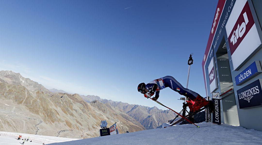 I nove di Theolier al lavoro a Zinal: già definita la formazione titolare per lo slalom inaugurale di Levi