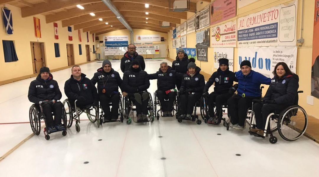 La nazionale di wheelchair curling in Finlandia: comincia l'avventura iridata
