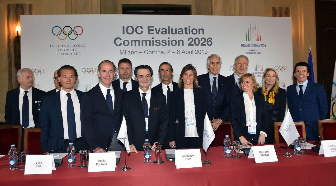 Conclusa la visita della commissione CIO verso Milano Cortina 2026. Morariu: 'Candidatura molto solida'