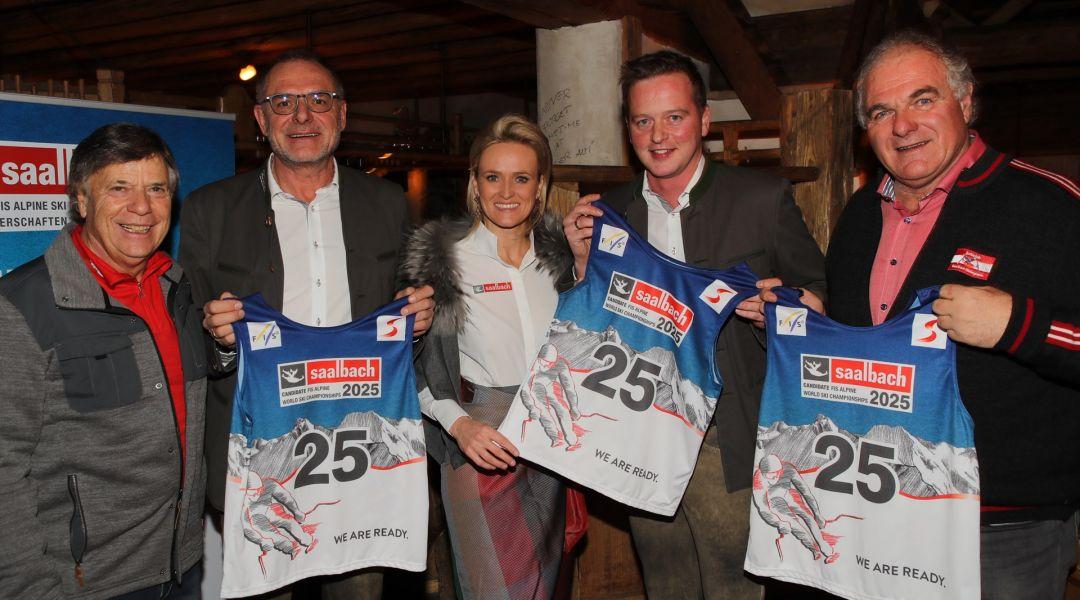Anche Saalbach-Hinterglemm presenta ufficialmente la candidatura: è corsa a tre per l'iride del 2025