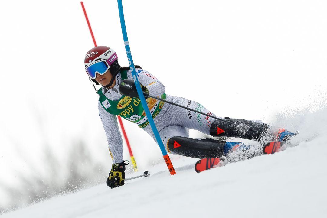 Sette slalomiste azzurre in allenamento a Zinal: selezione decisiva per le gare di Levi e Killington
