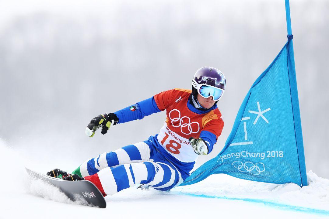 Tegola per lo snowboard azzurro: almeno un mese di stop per Mirko Felicetti