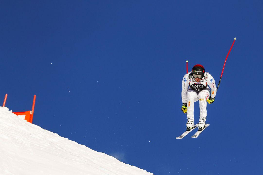 Emanuele Buzzi vuole già correre forte sui suoi sci: 'Pronto a crescere ancora dopo l'infortunio'
