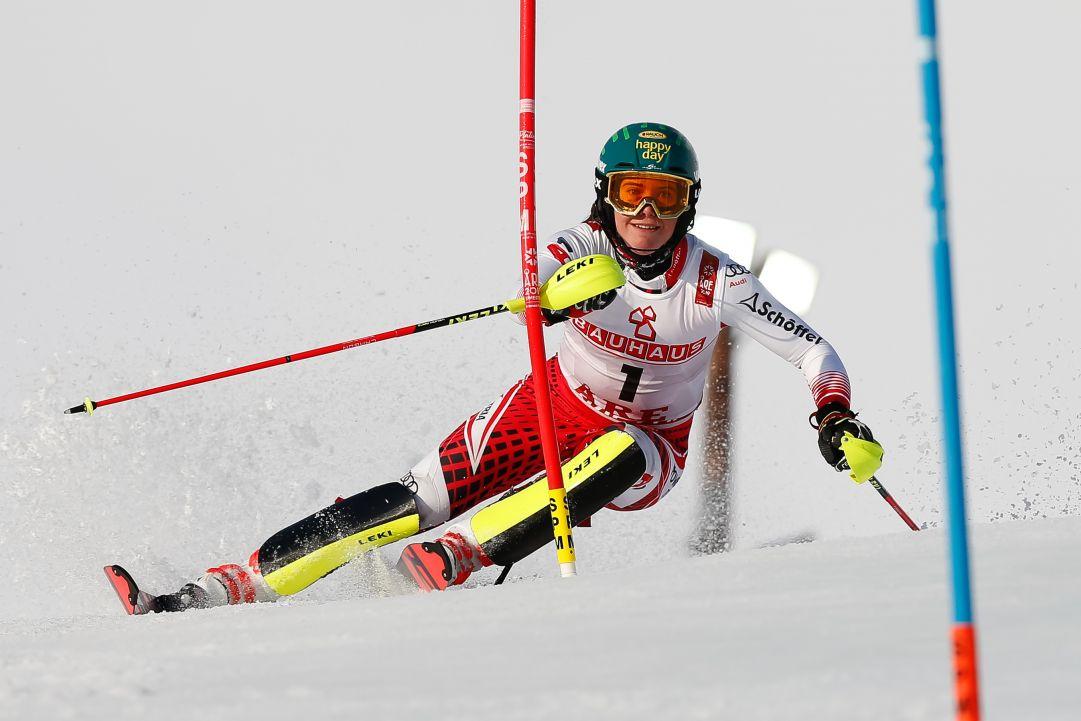 Katharina Liensberger ha ricominciato ad allenarsi con le compagne di squadra: firma vicina per tornare a Levi