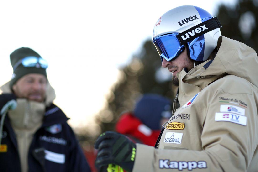 C'è anche Dominik Paris con gli azzurri in Val di Fassa. Gigantisti a Ponte di Legno con focus su Adelboden