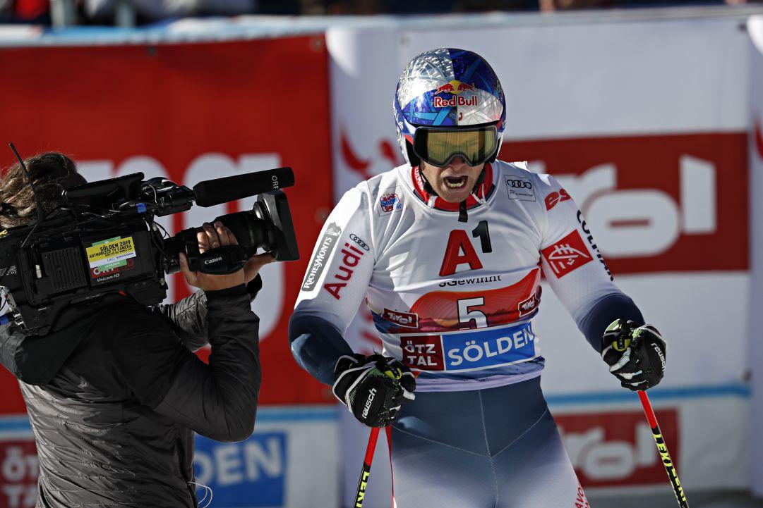 Sì, è Alexis Pinturault il principale candidato alla prima Coppa post Hirscher: 'Ora mi godo questa vittoria'