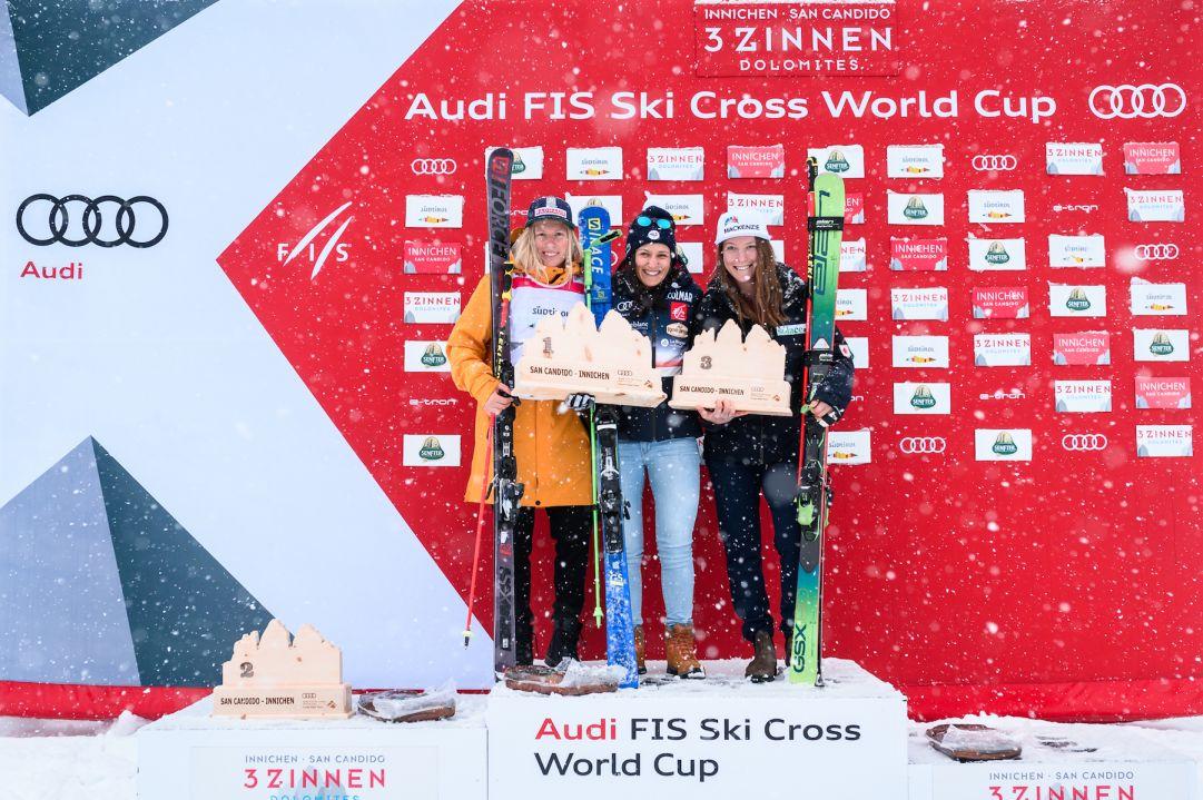 San Candido riesce a concludere il week-end di Coppa del Mondo di skicross: trionfano Joos Berry e Fanny Smith