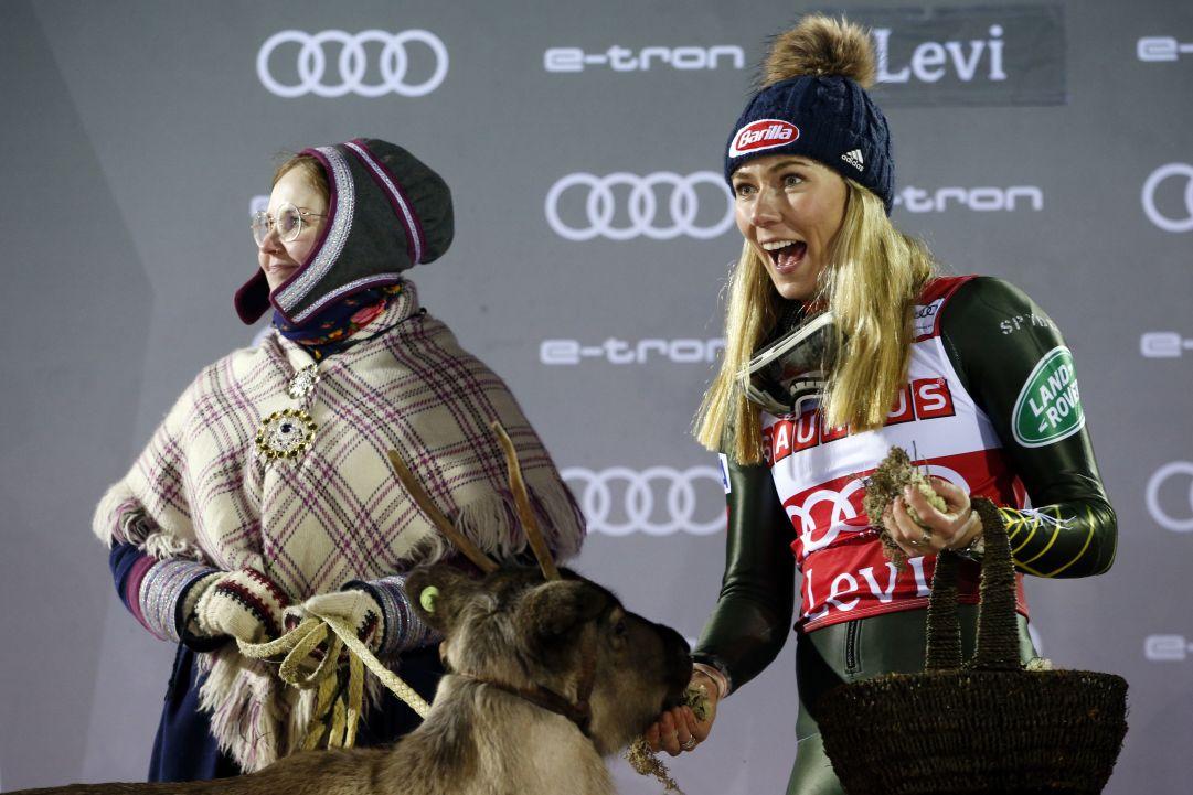 La quarta renna di Mikaela Shiffrin? Si chiamerà Ingemar: 'Il mio omaggio ad uno dei più grandi di sempre'