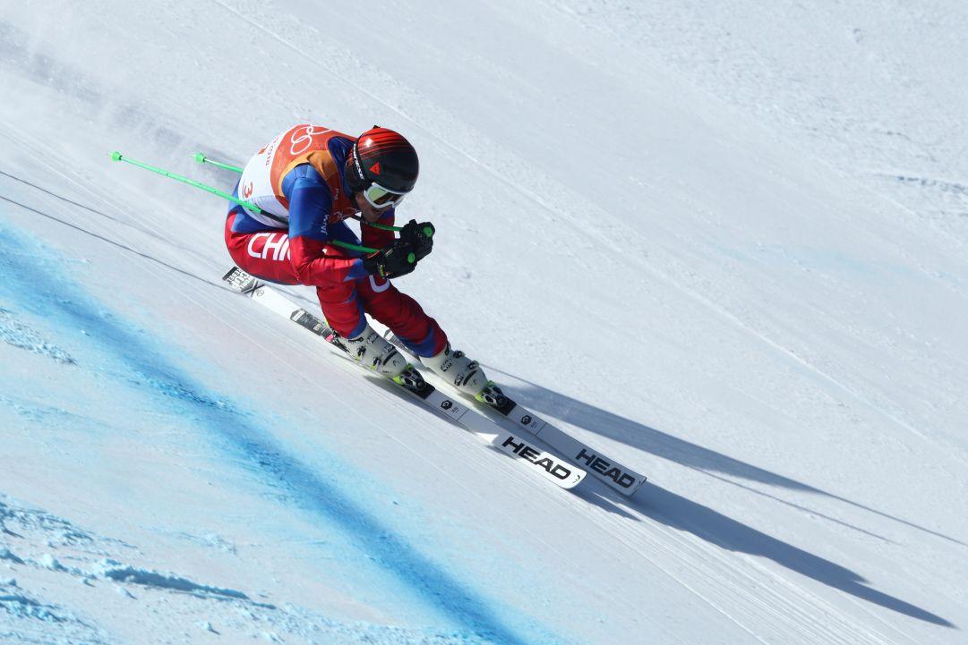 La stagione di Henrin Von Appen è già finita: la caduta in prova a Lake Louise costa il crociato al velocista cileno
