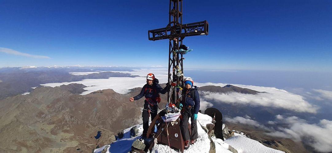 A 11 anni scala Monviso e Cervino nell'arco di un mese