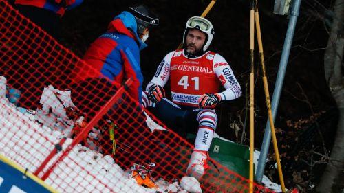 La sfortuna infinita di Brice Roger: il ginocchio destro cede ancora, crociato ko e addio Olimpiadi