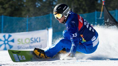 Il trionfatore di coppa Aaron March guida gli azzurri a Livigno: raduno primaverile sulla neve