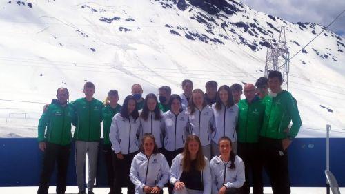I fondisti del Comitato Alpi Centrali: quattro giorni sulla neve per cominciare la nuova stagione