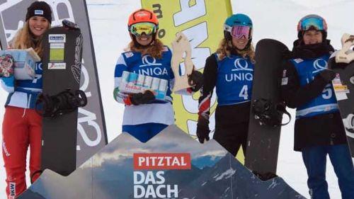 L'Italia dello snowboardcross comincia alla grande: Sofia Belingheri trionfa in Coppa Europa, Sommariva è secondo