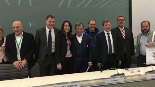 Bormio lancia a Milano la due giorni di Coppa del Mondo. Il presidente Roda: 'Che classica la Stelvio'
