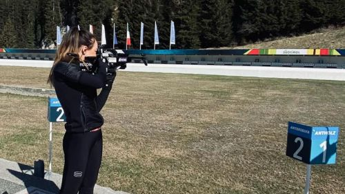 Dorothea Wierer già spara in direzione Pechino. E in bici le tocca aspettare i maschietti...