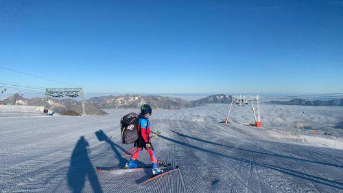 Comitato Alpi Occidentali, il lavoro dei ragazzi sulla neve comincia da Les Deux Alpes