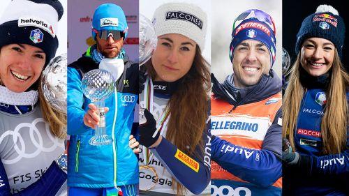 Cinque finalisti per l'atleta FISI del 2021: in corsa Bassino, Goggia, Wierer, Eydallin e Pellegrino