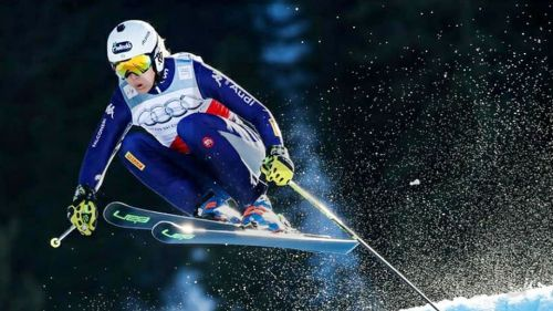 Salgono allo Stelvio gli specialisti azzurri dello skicross: Deromedis, Klotz, Zuech, Gunsch, Galli e Fantelli in pista