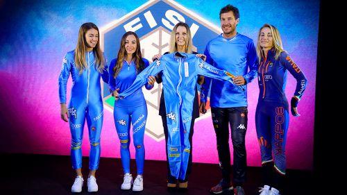 4CENTO Kombat Fisi 2022, ecco la nuova tuta degli azzurri nella notte d'apertura della stagione
