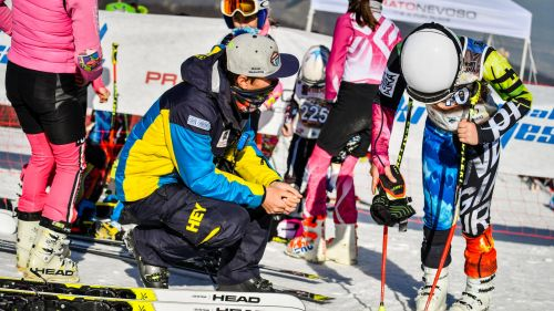 Annullate le gare di gimkana agli International Ski Games di Prato Nevoso: in trionfo il Golden Team Ceccarelli