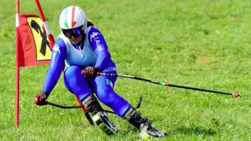Gritti secondo nello slalom di Schilpario, ma Frau (5°) è sempre più lontano dalla Coppa del Mondo