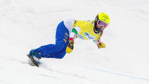Allo Stelvio anche gli specialisti dello snowboard cross: Michela Moioli guida un allenamento di 5 giorni