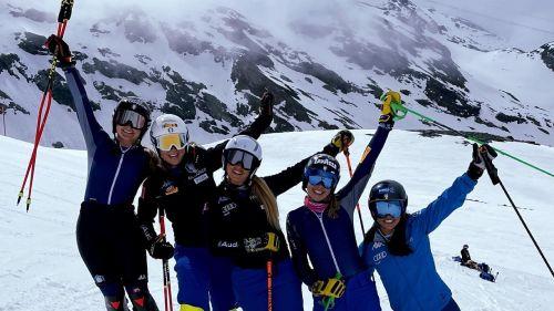 A Cervinia una settimana perfetta per le polivalenti azzurre, con i ritorni di Nicol Delago e Karoline Pichler