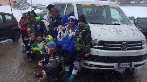 Criterium Cuccioli al Sestriere: l'Alto Adige vince la classifica a squadre