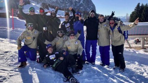 Doppia top ten azzurra nella tappa di slopestyle all'Alpe di Siusi: Lauzi è 6°, Framarin 10°
