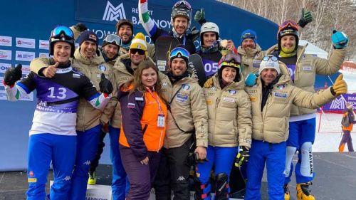 Trionfo totale per lo snowboard azzurro: doppietta Fischnaller-Felicetti nel gigante parallelo di Bannoye