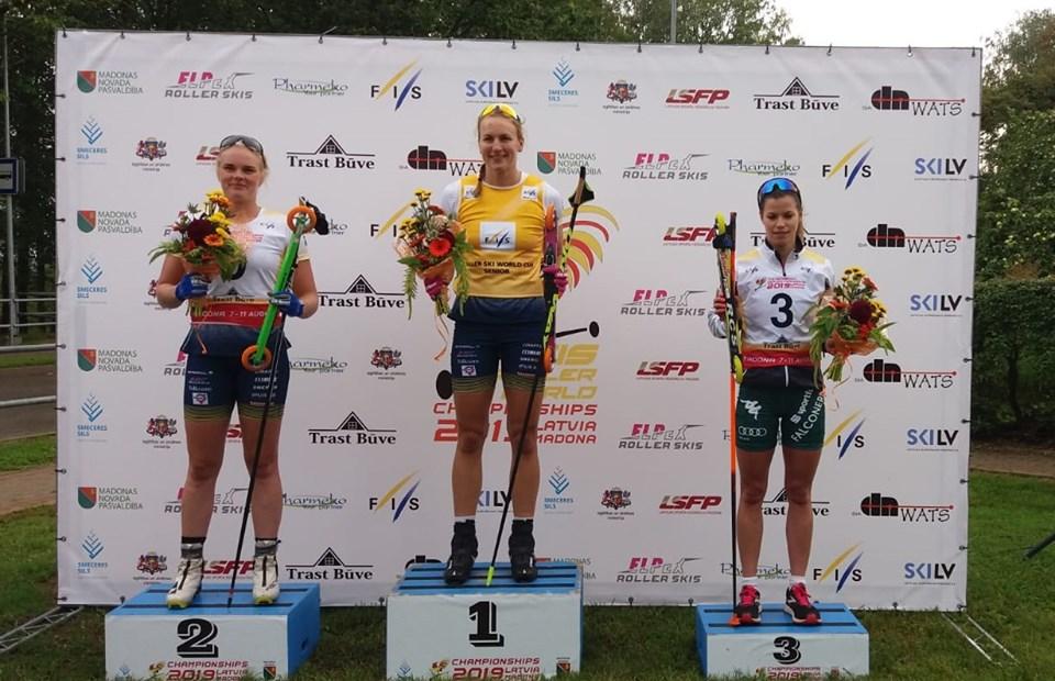 E' Anna Bolzan a portare un'altra medaglia mondiale all'Italia: bronzo splendido per la veneta nella sprint