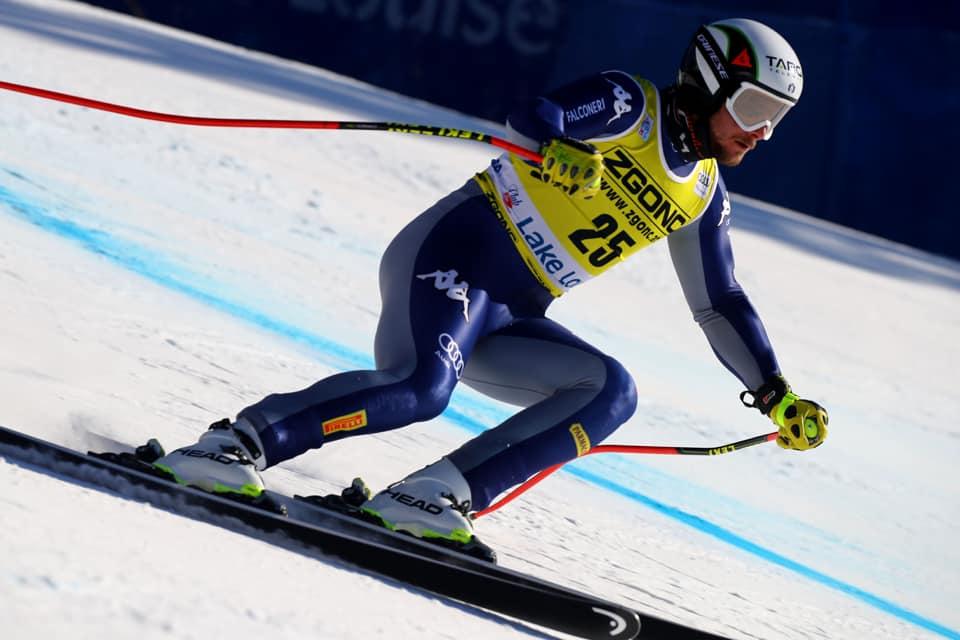 Emanuele Buzzi... c'è: 'Non sapevo cosa aspettarmi, sono molto felice dei risultati di Lake Louise'