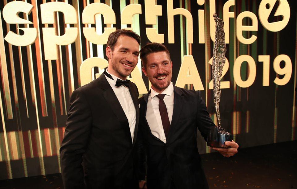Sportivo dell'anno in Austria, vince ancora Marcel Hirscher: a premiarlo l'amico Felix Neureuther...